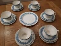 Wedgewood cups, saucers & tea plates