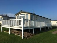 Haven Berwick Holiday Park 3 bed D/G & C/H Caravan to Hire