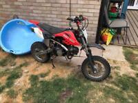 Terra moto125 pit bike