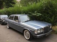 Mercedes 230e auto classic investment