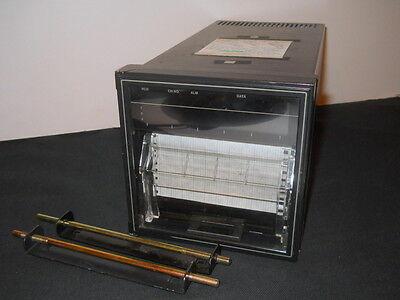 Yokogawa Ur100 3-pen Chart Plotter Recorder 115vac 4153-555-321bu