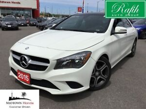 2016 Mercedes-Benz CLA-Class 4matic Coupe-Premium package