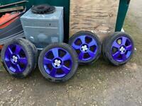 "Corsa C 16"" SRI Candy Purple Alloy Wheels"