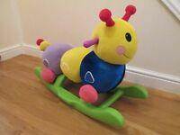 Caterpillar Rocker Toy