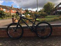 Rockrider 6.3 full suspension mountain bike, Downhill, bmx, jump, trials.