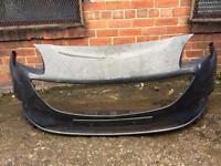 Vauxhall Corsa E 2015 2016 genuine grey front bumper for sale