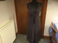 ec46d485fd87 TED BAKER BROWN DRESS SIZE 4 about 12 14