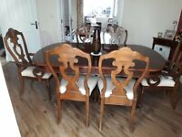 High Quality Dining Room Table and Chairs