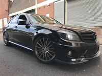Mercedes-Benz C Class 2008 6.3 C63 AMG 7G-Tronic 4 door AUTOMATIC, F/S/H, 6 MONTHS WARRANTY, BARGAIN