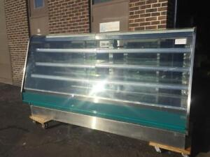 Hillphoenix SERVICE BAKERY CASES WITH FRONT LIFTING GLASS