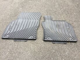 Audi A3 car mats rubber for latest model front set