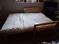 John Lewis double futon bed £80 ONO