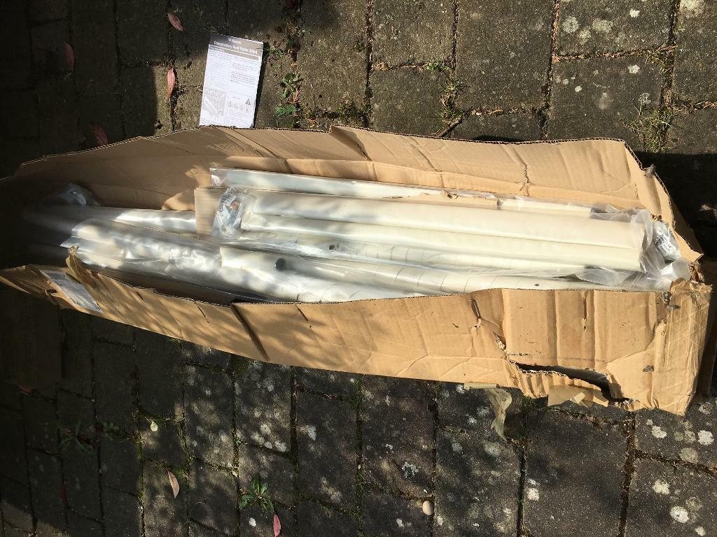 Wickes Brand New Conservatory Roof Roller Blinds Complete Set