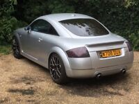 TT QUATTRO 1.8. Superb example of TT. TT owners club car. Well looked after. Reduced price.