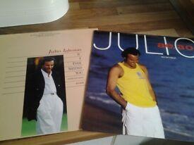 2 Julio Iglesias LPs.