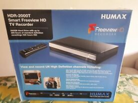 Brand New Humax HDR-200T Smart Freeview HD TV Recorder (Unwanted Gift)