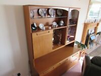 Display and Drinks Cabinet with Drawers