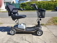 Aguna Ultralight Portable Mobility scooter new Aug 2019 Grey