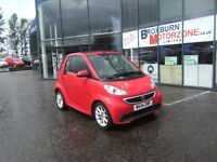 2014 14 SMART FORTWO CABRIO 1.0 PASSION MHD 2d AUTO 71 BHP **** GUARANTEED FINANCE ****