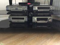 Tecnics dvd stereo system