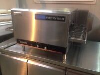 PIZZA OVEN LINCOLN IMPINGER 16 INCH CONVEYOR, Single Phase Full Working