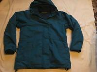 Mountain ladies double jacket hoodies full zipper blue size 12 used £3