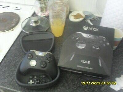 Microsoft Xbox One Elite HM3-00009  Wireless Gaming Controller - Black