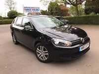 2013 VW GOLF SE BLUEMOTION 1.6 TDI ESTATE £20 TAX IDEAL FOR PCO TAXI/UBER FINANCE: £147 X 60 MONTHS