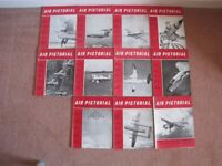 SET OF VINTAGE 'AIR PICTORIAL' MAGAZINES FOR 1960 WITH EXCEPTION OF SEPTEMBER ISSUE