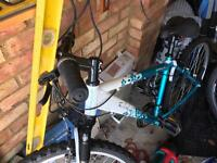 Girls / ladies 17inch frame bike with gears in really good condition