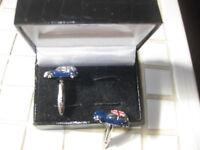 Van Buck Union Jack Mini cufflinks