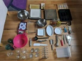 Job lot kitchen items