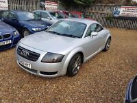 2003 Audi TT 1.8 T Quattro with DVD and parking camera