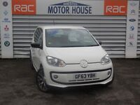 VW Up (ROCK UP) (£20.00 ROAD TAX) FREE MOT'S AS LONG AS YOU OWN THE CAR!!!! (white) 2014