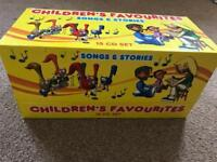 Children's Favourites songs and stories 15 CDs