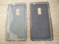 2 x USED One plus 2 phone silicone cover Oneplus protector