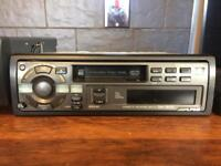 Alpine head unit and cd changer