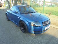 Audi TT 1.8 T Quattro 3dr, 2000 (X), cheap car
