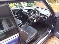 Purple Mini Cooper For Sale Petrol, 76,000 miles, £2,300 ONO.