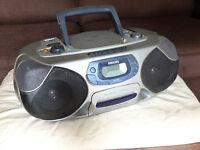 Philips portable CD/cassette/radio