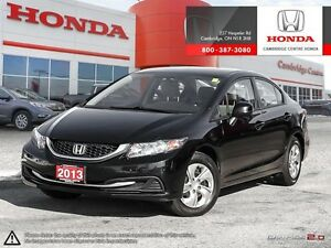 2013 Honda Civic LX REMOTE KEY-LESS ENTRY WITH TRUNK RELEASE...