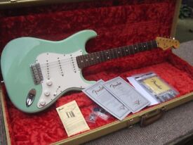FS/FT GUITARS COLLECTION JJ CUSTOM, WARMOTH & CUSTOM SHOP FENDER STRATOCASTERS (MIDLANDS LE27QT)