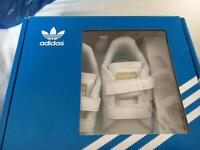 Baby adidas superstars for sale size 1