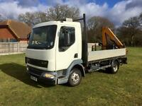 Layland DAF 7.5ton with 2008 HIAB