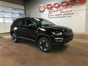 2018 Jeep Compass Trailhawk 4X4 Leather / NAV / Sunroof