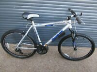 LARGEFRAME REBOK LIGHTWEIGHT ALUMINIUM BIKE IN ALMOST NEW CONDITION.. (SUIT LARGER RIDER).
