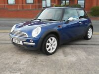 52 MINI ONE 1.6 + NEW MOT + WHITE ALLOYS
