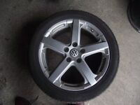 VW T5 ALLOY WHEELS AND TYRES Plymouth, Devon