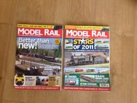 Collection of model railway magazines - free to collector.
