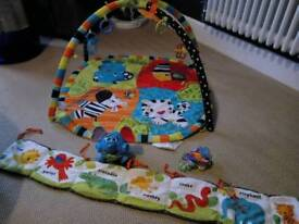 Baby play mat plus other items
